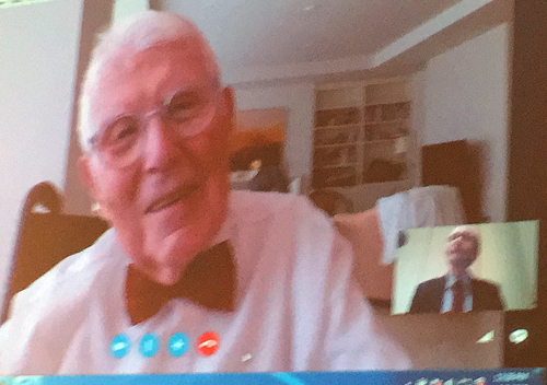 Aaron T Beck at 94 - APA 2015