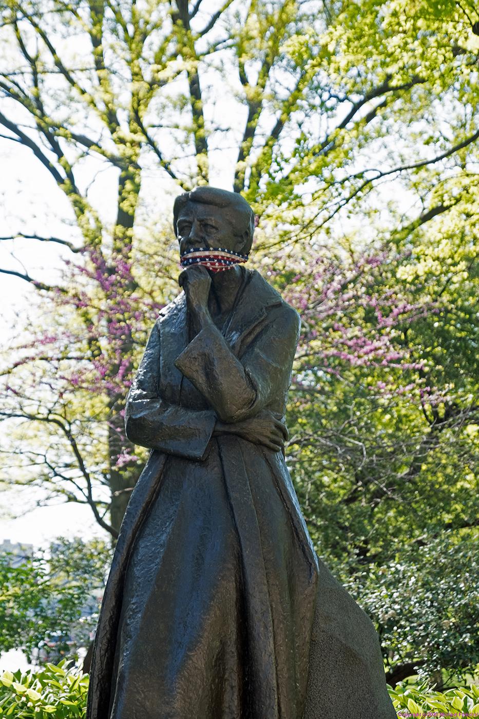 Eleanor Roosevelt in Mask]