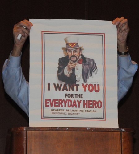 Phil Zimbardo wants you to be heroic!