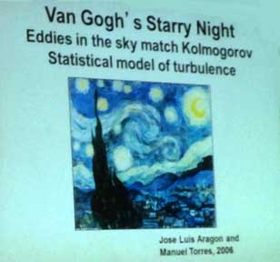 Van Gogh's Starry Night and Mathematics