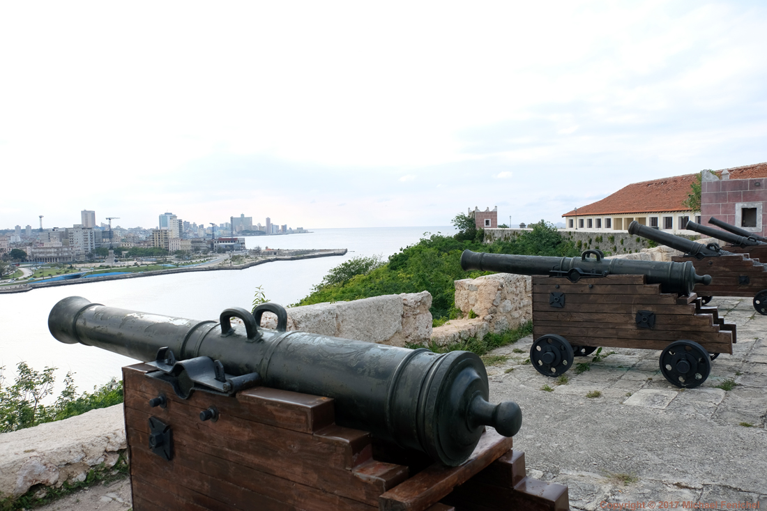 Cannons of Fortaleza de la Cabaña