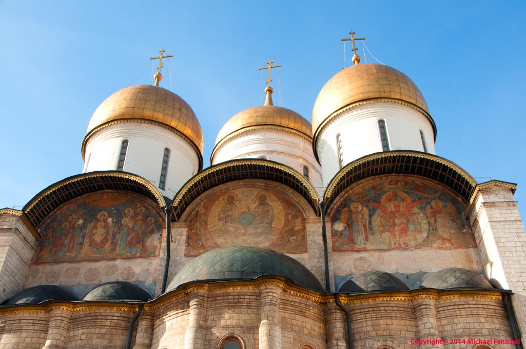 [3 Domes inside Kremlin]