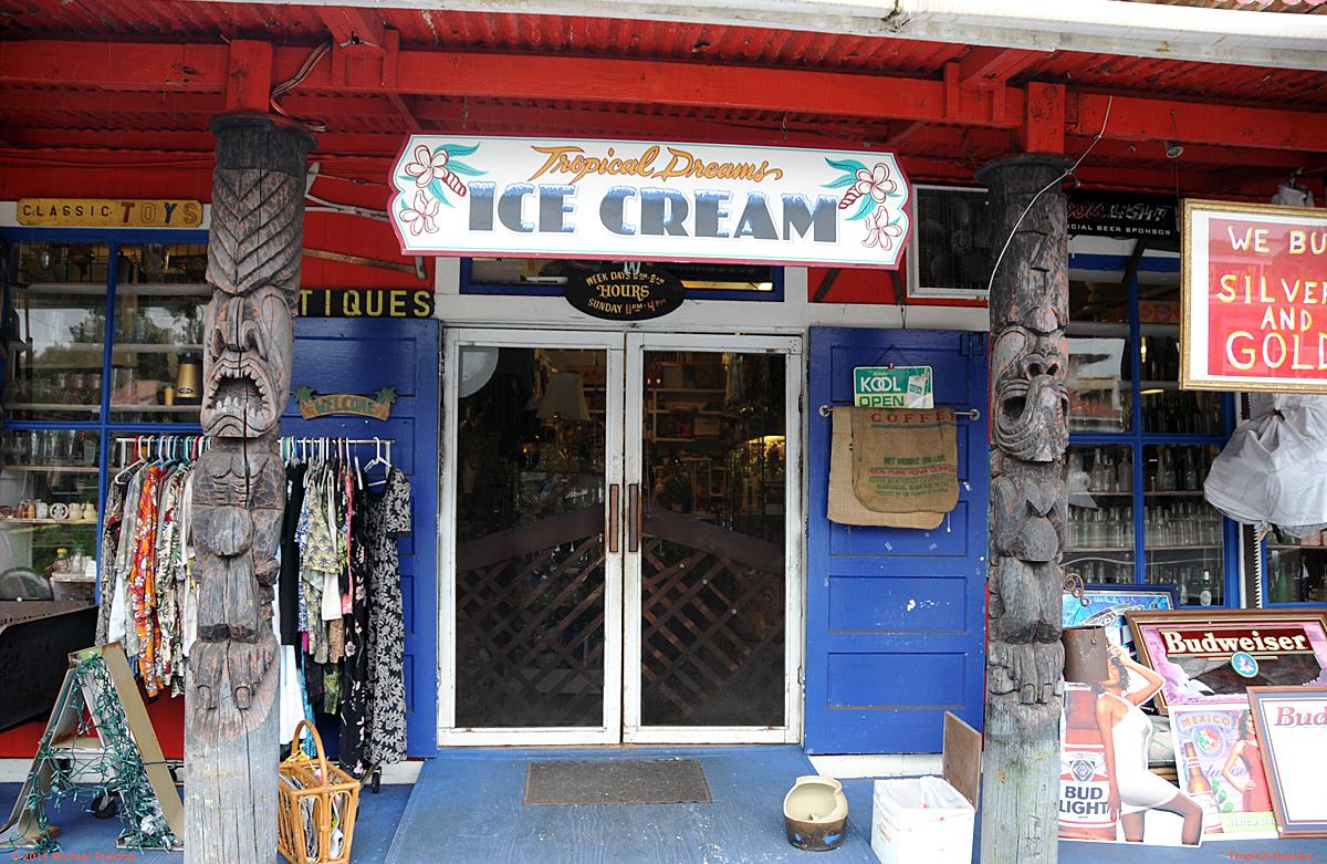[Antiques, Iconic Stuff, and Ice Cream, near Kona]
